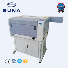 SUNA 600*400mm leather plastic leather etching making machine
