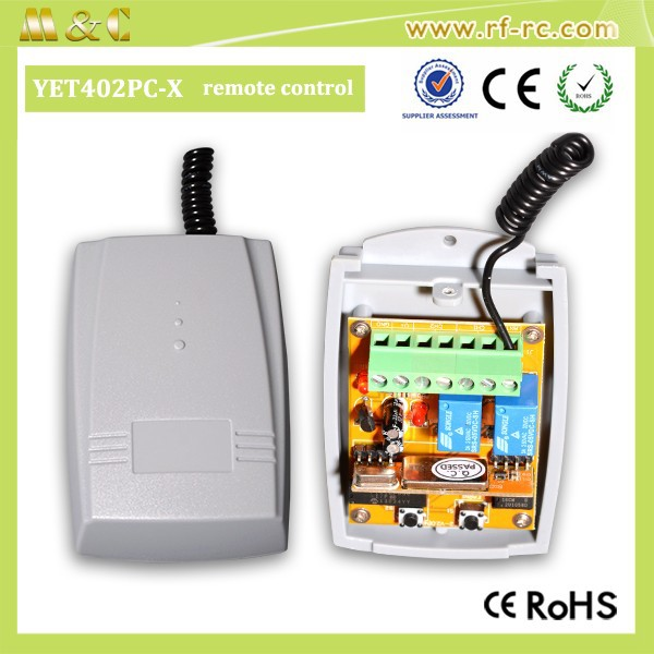 wireless rolling code compatible rf receiver YET402PC-V2.0
