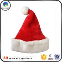 Wholesale Winter Promotional Custom Christmas Santa Hats