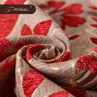 Cheap Fancy Wholesale Chenille Jacquard Upholstery Fabric