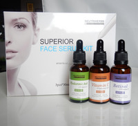 Cosmetic Manufacturer Best Whitening Vitamin C Serum 20% Private label Face Whitening Facial kit