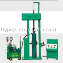 Oxygen cylinder hydrostatic pressure test equipment