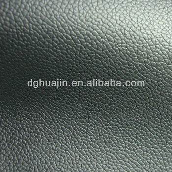 Black Embossed PVC synthetic leather