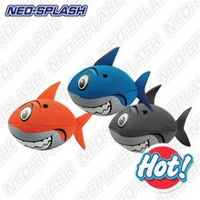 Good Quality Cartoon Inflatable Beach Toys Neoprene Beach Ball Shark Ball for Children