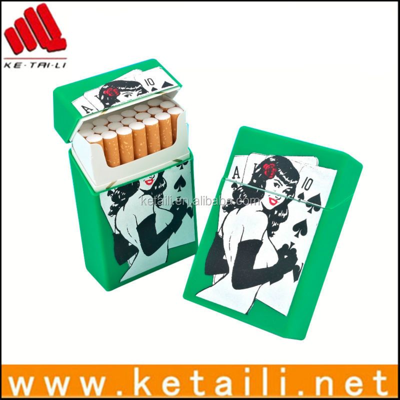 Hotselling Product silicone tips electronic cigarette silicone box cigarette rack cigarette display cabinet box