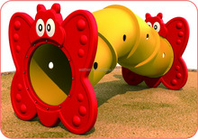 Interesting Plastic Indoor Toy of Caterpillar Tunnel for Kids and toddlers used in garden and park