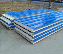 hanyao reliable 50mm light weight eps roof sandwich panel
