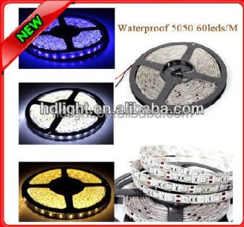 5050 RGB Led Strip Flexible Light 300 SMD waterproof DC 12V+ IR Remote Controller