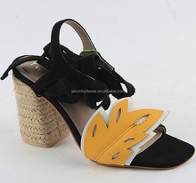 women sandals and tpr sole sandles beauty girls shoes factory