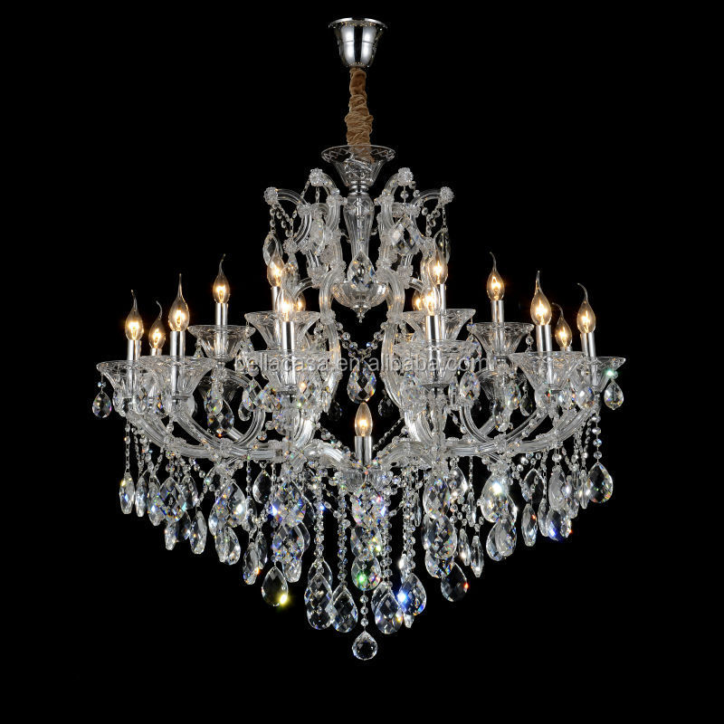 Moroccan Style Antique Waterford Crystal Brass Chandelier Home Lighting
