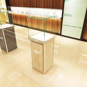 Portable Exhibition Glass Display Counter / Foldable Display Cabinet Showcase/ originality Shop design display counter