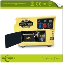 portable 3kw 5kw electric diesel generator set price for home use