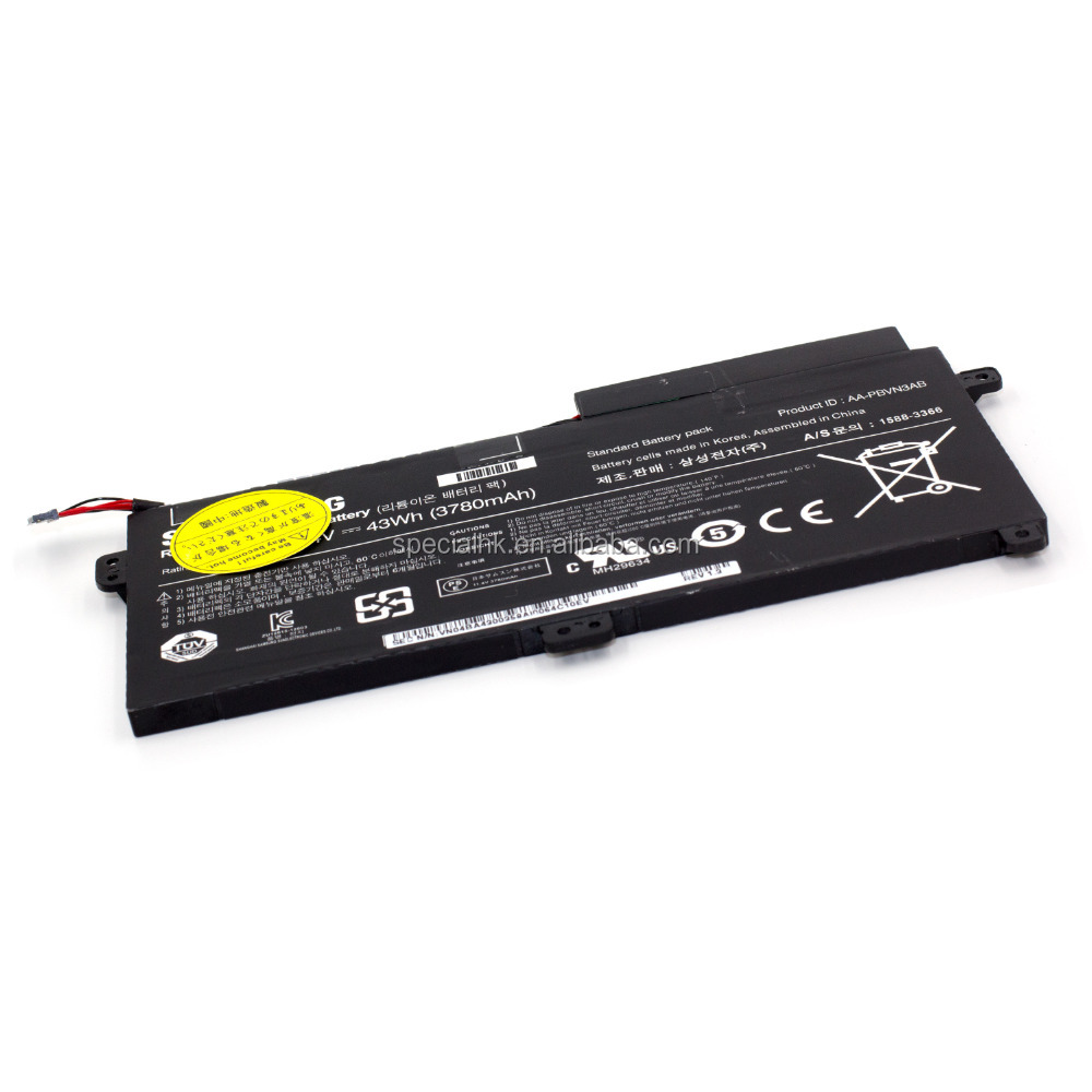Notebook battery AA-PBVN3AB For Samsung NP470R5E 510R BA43-00358A 43Wh