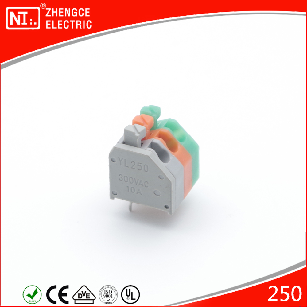 250 LED Lighting Connectors Terminal With Grey