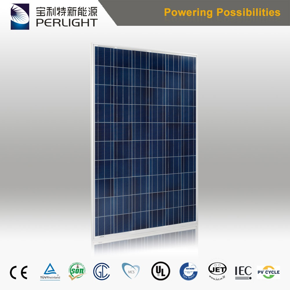 260W Solar cell module simi flexibel solar panel poly precio panel solar
