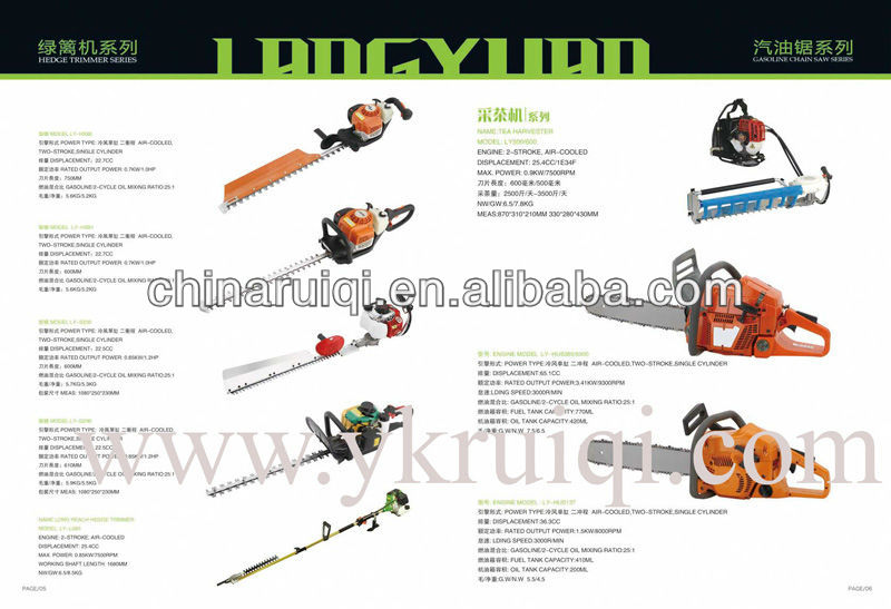 22.5cc Dual Blade Portable Hedge Trimmer