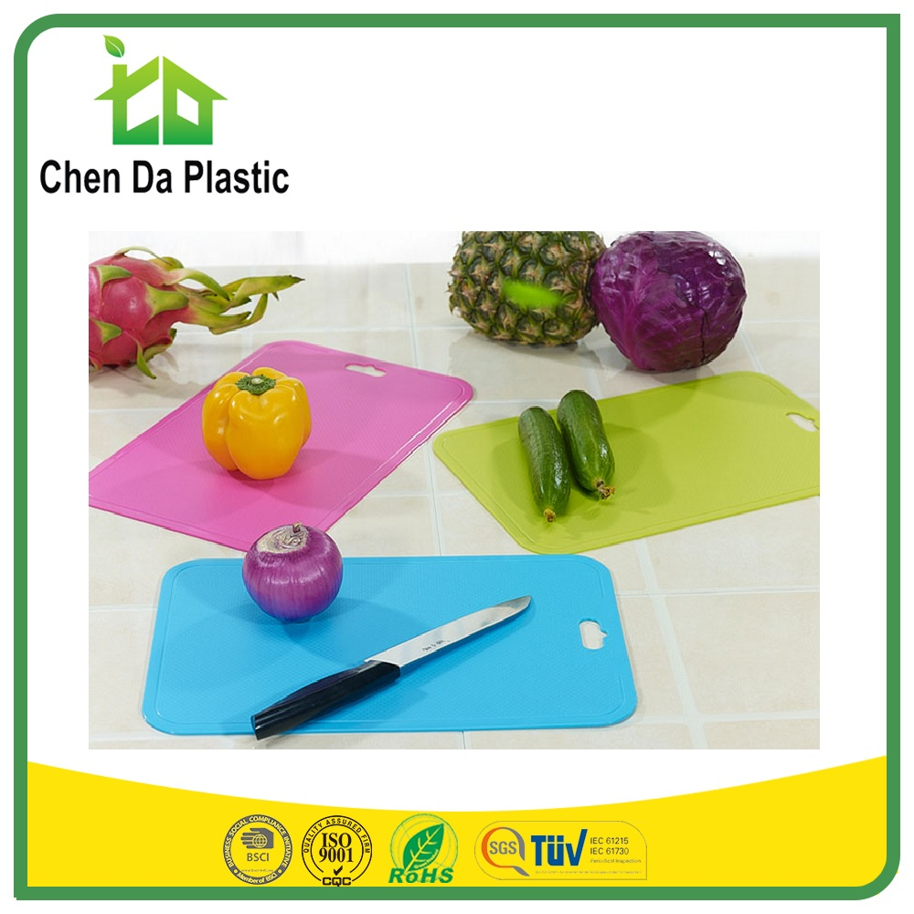 High Quality Wholesale pp chopping board man made fruit and vegetable