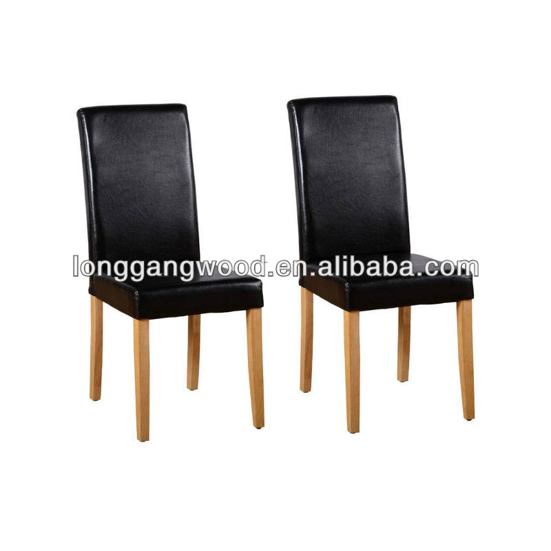 fire retardant leahter <strong>oak</strong> dining chair,wooden dining chair