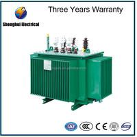 1000 kva capacity 11kv 33kv 3 phase oil power transformer price oil immersed distribution transformer