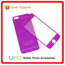 [UPO] Hardness 9H 2.5D Color Mirror Tempered glass screen protector, 0.33mm tempered glass for Iphone 6 6s