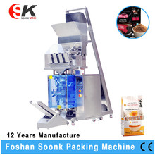 Material Stainless Steel 304 Coffee Powder Packaging Machine