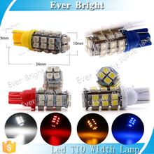 3528 1210 28SMD led light car front side width lamp 12V dc w5w 192 168 T10 led bulb lience plate light