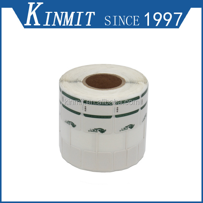 Low Price Custom Printing Self Adhesive Jewelry Barcode Labels