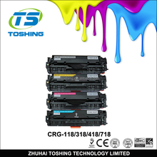 Compatible CRG-118 CRG118 CRG318 CRG418 CRG718 Toner Cartridge for Canon toner