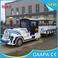 Changda New Type Tourist Train Amusement Rides Tourist Road Trackless Train
