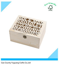 custom laster printing cut-out shaped wooden boxes jewellry chest wooden gift box