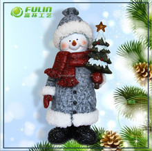 Outdoor Christmas Decorative Snowman For Santa (NF3600103)