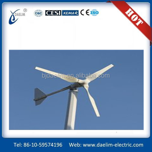 100kw off-grid spiral wind turbine system