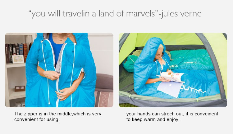 2015 online sale top 10 in mainland China Outdoor camping sleeping bag