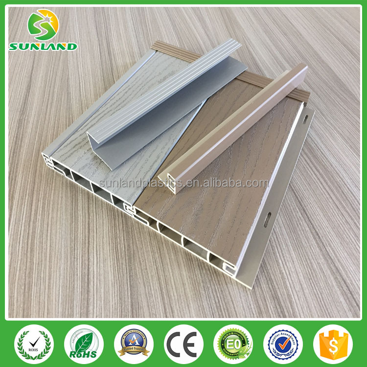 outdoor vinyl flooring home used pvc decking UV protection manufacturer made in China