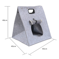 Fashional felt wholesale soft sided pet carrier