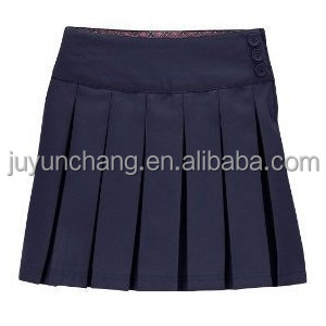 Sublimation Custom School Uniform Cheerleading Uniform Pleated Skirts