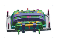 auto parts car bumper Plastic injection mould