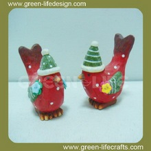 Lovely red bird christmas ornaments