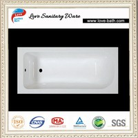 white low price drop-in best clear acrylic bathtub