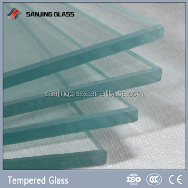 10mm clear tempered glass for oven door
