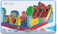 Latest giant/large Inflatable playground kids bouncy castle