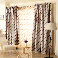 Latest style Modern fashion simple lines Strong decorative sense Home apartment curtain