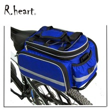 Waterproof Bicycle Bag Cycling Rear Seat Trunk Bag Panniers Bicycle Accessories With Raincoat