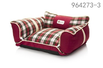 2016 Classic grating new red dog bed sofa