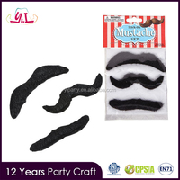 Costume Party Favor Self Adhesive Fake Plush Mustache