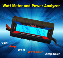 Digital FT08 high precision watt meter for Wind Power generators batteries and chargers