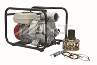 WT30 China Sewage Water Pump with petrol powered