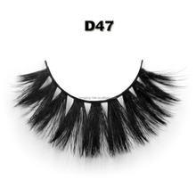 Wholesale custom package private label 3D faux mink eyelash for makeup