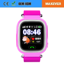 Wholesales Factory Price Q90 kids Gps Running Tracker Golf watches with OLED Display screen