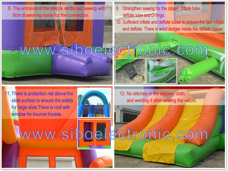 GMIF6229 party rentals inflatables jumping bed for kids in hire rental